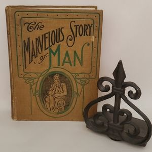 The Marvelous Stort of Man Hardcover Book